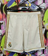 Real Madrid Spain Football Soccer Training Shorts Adidas 2011 Youth size L