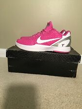 Kobe 6 Kay Yow Men's Size 12 Breast Cancer Think Pink