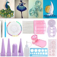 11pcs Paper Quilling Board Mould Crimper Comb Ruler Handmade Tools DIY Craft Kit