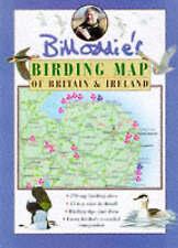 Bird watching map Birding Map of Britain and Ireland Bill Oddie wildlife birds