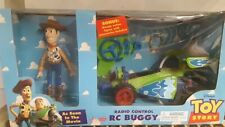 1998 Toy Story RC Buggy and Woody doll