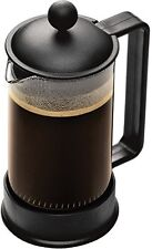 NEW Bodum BRAZIL Coffee Maker French Press Coffee Maker Black 12 Ounce 3 Cup