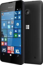 Nuovo di Zecca Microsoft Nokia Lumia 550 Nero 4 G LTE Sim Gratis Windows Phone 10