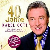 "KAREL GOTT "" 40 JAHRE KAREL GOTT"" 2 CD NEW"