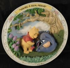 Disney Bradford Exchange Winnie The Pooh Youre A Real Friend Collectible Plate