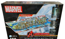 Marvel New York 4D Jigsaw Puzzle With 3D Models New