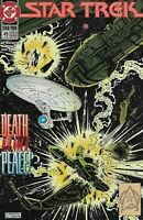 Star Trek  #49 DC comics 1989 Bagged and Boarded