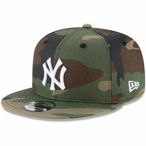 New York Yankees New Era Basic 9FIFTY Snapback Hat - Camo