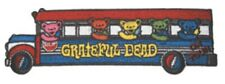 Grateful Dead Tour Bus Bears Embroidered Patch G039P Phish Jerry Garcia