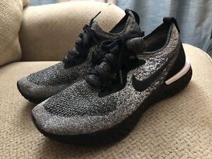 Nike Epic React Flyknit 'Oreo' Women's Running Shoe AQ0070-011 Sz 9.5