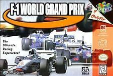 F-1 World Grand Prix (Nintendo 64, 1998, *Cartridge Only*) Ships in 12 hours!!!