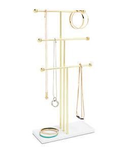 Umbra ® Trigem Tree gold Schmuckhalter Schmuckständer Ringablage Kettenhalter