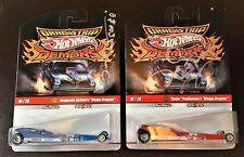 Hot Wheels Redline Drag Strip Demons Snake Mongoose Autographed Set
