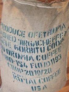 4 lbs Green Coffee Beans Some ea. Ethiopia Yirgacheffe Natural, Honduras Bourbon