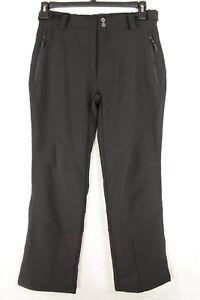 CB Sports Women'S Ski Black Pants Soft-shell Size S Retail
