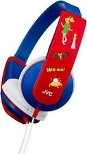 JVC Tiny Phones Kids Stereo Headphones - Blue