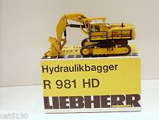 Liebherr 981HD Shovel - 1/50 - CEF Replex #104 - N.MIB