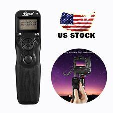 LCD Display Timer Remote Trigger Shutter Release For D90 D5000 D5200 D7100 D4 MX