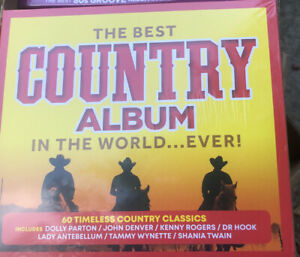 The Best Country Album in The World Ever! (Various Artists) [New & Sealed] 3 CDs