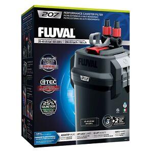 Fluval 207 Aquarium External Canister Filter 780 L/PH