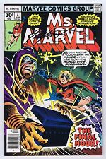 Ms. Marvel #4 Signed w/COA by Chris Claremont VFNM 1976 Marvel Comics PWC