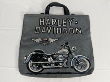 Authentic HARLEY DAVIDSON Black Shoulder Tote Bag
