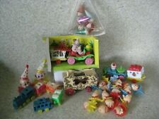 29 Vintage Clown Circus Car Train Carriage Cake Topper Lot