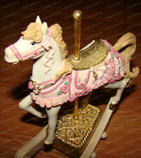 Carousel Rocking Horse (San Francisco Music Box, 64092) 1996, Beauty & the Beast