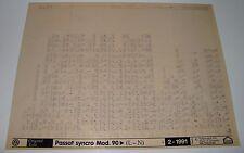 Ersatzteilkatalog auf Microfich VW Passat B3 35i syncro Allrad ab Baujahr 1990
