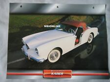 Kaiser Darrin Dream Cars Card