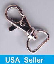 Металлический темляк крюк крепление с поворотной оснасткой для паракорд карабинчиком клипсы лот из 25, 50, 100