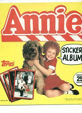 1982 Topps Annie Sticker Set (120) + Free Album!