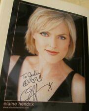 10x8 Signed Photo of Elaine Hendrix