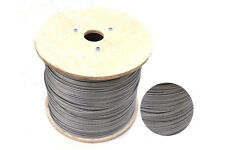 1meter SS304 0.8MM  PVC Nylon plastic coated stainless steel wire rope