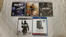 PS3 Games, Call of Duty Ghost, Black Ops, Modern Warfare 2 and 3 & Ps3 Network