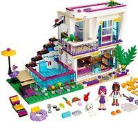 760 PCS Friends Girl Series Building Blocks Toy Livi's POP Star House 37035 LEGO
