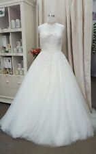 Lace Ball Gown/Dutchess Tulle Wedding Dresses