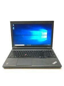 "Lenovo ThinkPad T540p 15.6"" Core i5 4200M 16GB RAM 512GB SSD Win 10 Pro"
