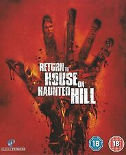 RETURN TO HOUSE ON HAUNTED HILL JEFFREY COMBS TOM RILEY WARNER UK DVD NEW RARE