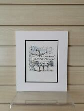 Charlie Mackesy book extract mounted. The boy, the mole,the fox and the horse C