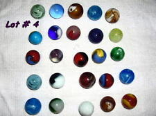 Antique 1910-1920 Agate Glass Marbles Lot of 25. Lot # 4