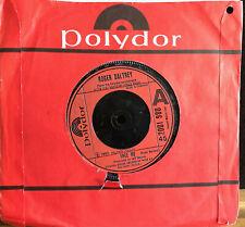 ROGER DALTREY FREE ME MCVICAR UK BRITISH PRESS VINYL 45 RECORD THE WHO POLYDOR