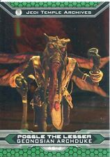 Star Wars Chrome Perspectives II Base Card 46-J Poggle The Lesser