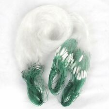 25m Clear White Green Monofilament Fishing Fish Gill Net w Float HY