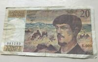 1987 France 20 Francs - World Banknote Currency