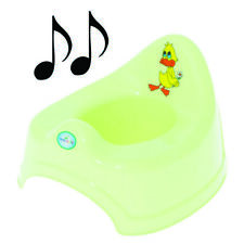 Potty Training - Musical Potty For Toddlers Easy To Clean - Duck (Green)