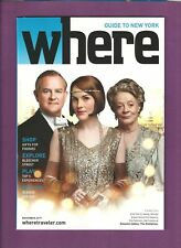 DOWNTON ABBEY the CRAWLEY FAMILY The Exhibition 2 mint items from NEW YORK