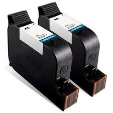 2 Pack HP 45 Ink Cartridge Color Copier 145 150 155 160 170 180 190 210 260 270