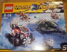 LEGO World Racers Blizzard's Peak set 8863 new sealed with box and instructions.