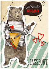 New passport Cover 🐻 Welcome to Russia  😎